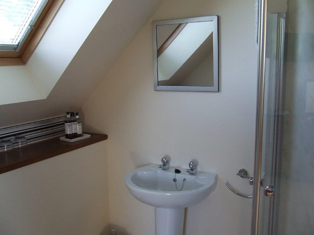 Jura en-suite shower room