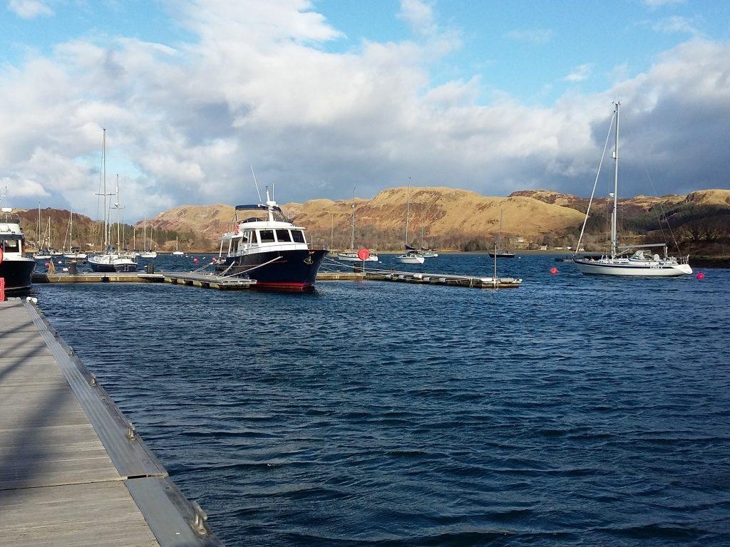 Boats on Loch Craignish
